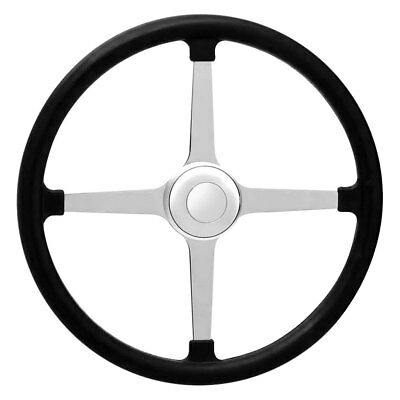 GT Performance 4-Spoke GT3 Competition Bell Style Rubber Steering Wheel