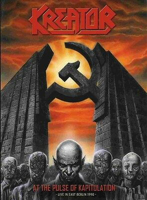 Dvd + Cd Set Kreator At The Pulse Of Kapitulation Live In East Berlin 1990 New