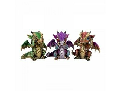 Three Wiselings Dragon Statues