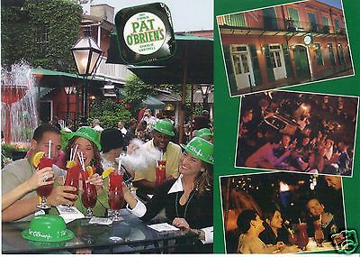 PAT O'BRIEN'S in the French Quarter New Orleans Louisiana Large 5x7 POSTCARD