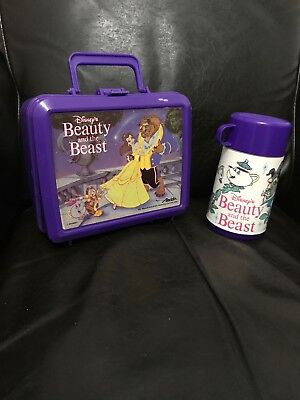 Beauty & the Beast Hard Lunch Box with Thermos
