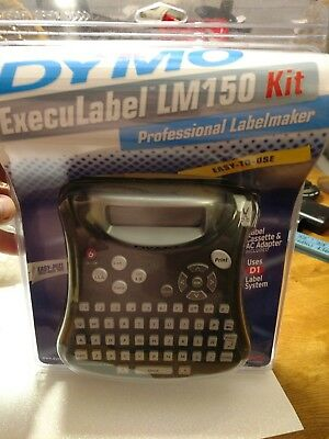 NEW SEALED DYMO ExecuLabel LM 150 Professional LabelMaker AC adapter guide D1