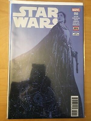 Star Wars 50, Nm (9.4 - 9.6) 1St Print, Iconic Princess Leia Cover, Cgc Worthy