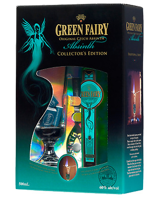 Green Fairy Absinth Gift Pack 500mL Spirits pack