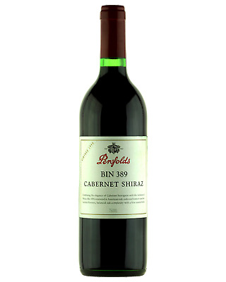 Penfolds Bin 389 Cabernet Shiraz 1998 Red Wine 750mL bottle