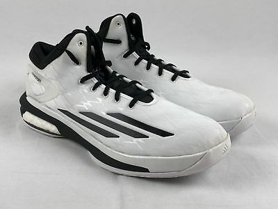 NEW adidas Crazylight Boost - White Basketball Shoes (Men s Multiple Sizes) 5ba159eec