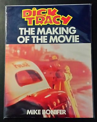 Dick Tracy The Making of The Movie By Mike Bonifer (Bantam, 1990) FN/VF