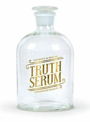Bottled Up TRUTH SERUM 32oz. Glass Decanter by Fred Studio