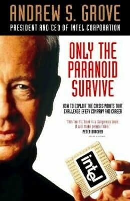 Only the Paranoid Survive by Grove, Andrew Hardback Book The Cheap Fast Free