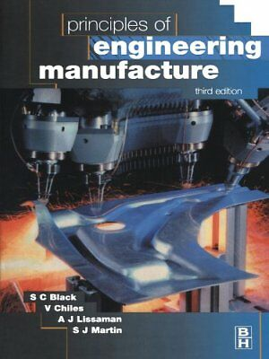 Principles of Engineering Manufacture by Chiles, V. Paperback Book The Cheap