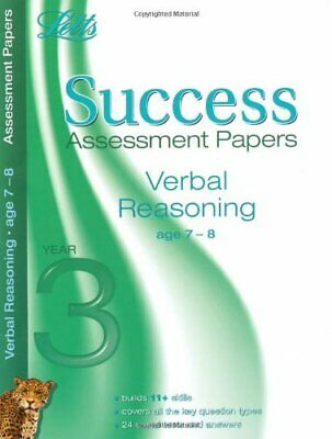 Verbal Reasoning Age 7-8: Assessment Papers (Letts 11+ S... by VARIOUS Paperback
