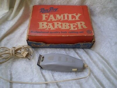 Vintage Family Barber Hair Cutting Set by Mcgraw Edison Co.-1950's