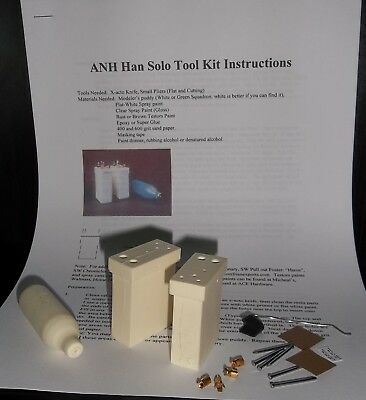 Star Wars ANH The Force Awakens Han Solo Belt Holster Tool Kit Prop Costume