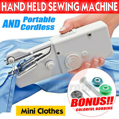 Portable Sewing Machine Mini with Lamp and Thread Cutter High & Low Speeds
