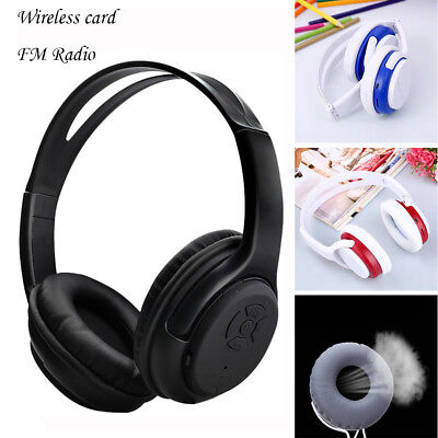 Wireless Headphones Headset Noise Cancelling Earphone Card TF And FM Radio