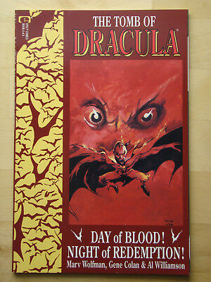 The Tomb Of Dracula (1991) #4 Of 4 (Nm) Wolfman & Colan, Epic Comics