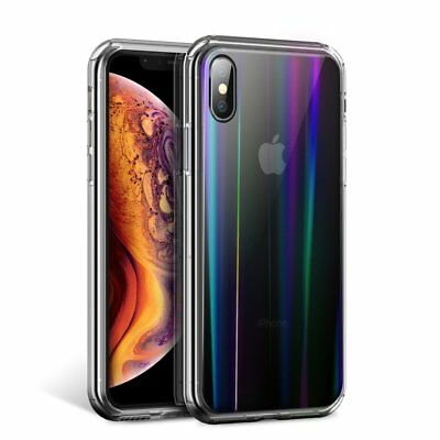 iPhone Xs Max XR 7 8 6 Plus Case Shockproof Tough TPU Slim Clear Cover For Apple