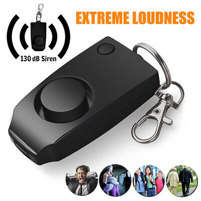 Anti-rape Device Alarm Loud Alert Attack Keychain Safety Personal Security Newly