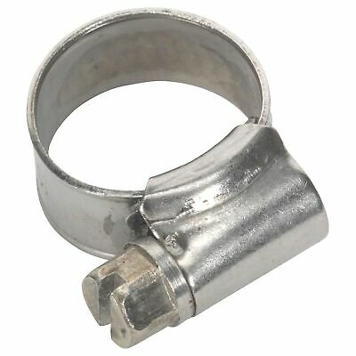 Sealey Race / Rally Pack of 10 Stainless Steel Hose Clips - 10-16mm
