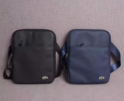Messenger Ipad Black Shoulder Bag Mens Navy amp; Lacoste Man wqf8KI