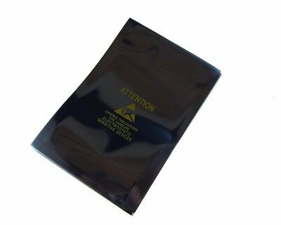 Static Shielding Anti-Static Bags Open End w/ Logo Yellow 7x11cm - Pack of 20
