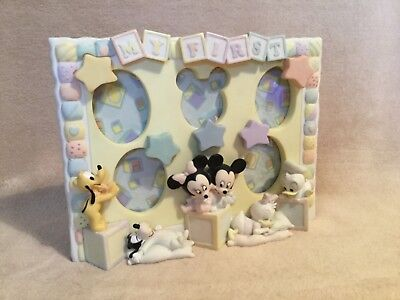 Disney Store Vintage Baby Mickey & Minnie Mouse * Photo Frame - Boxed