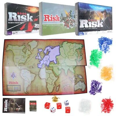 Risk: The Game Of Strategic Conquest Board Game Family Fun Faster Gameplay Party