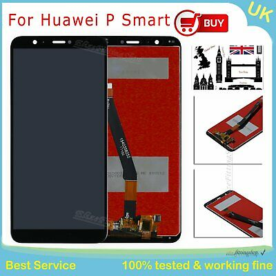 LCD Touch Screen Digitizer For Huawei P Smart FIG-LX1 Black Assembly Replacement