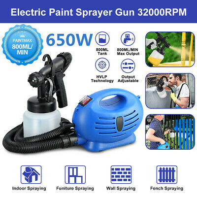Electric Paint Sprayer Spray Gun For Painting Fence Garden Wall Bricks DIY Tools
