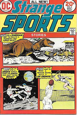 Strange Sports #2 (DC Comics, Dec 1973) 8.0 VF