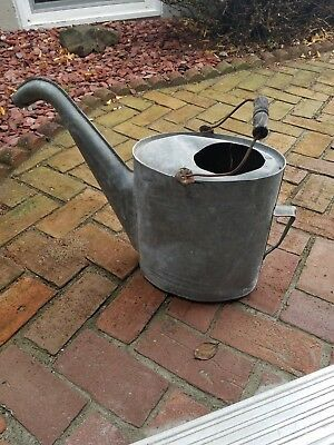 Antique Original Gooseneck watering can metal automotive collectible