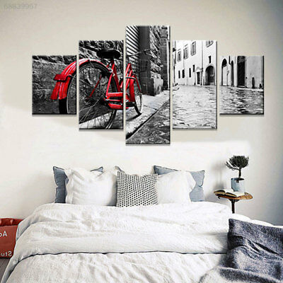 428D E3B3 Wall Art Canvas Print Picture Durable Home Decor 5 Panels Bedroom
