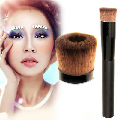 Hot Pro Face Concave Liquid Powder Foundation Brush Cosmetic Makeup Tool K Kit