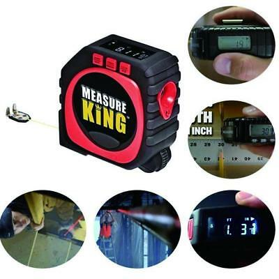 THE WORLD'S SMARTEST TAPE MEASURE Measure King 3-in-1 LED display ruler BC