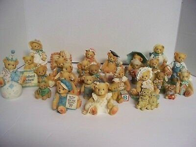 25 Cherished Teddies Teddy Bear Figurines Collectibles by Enesco