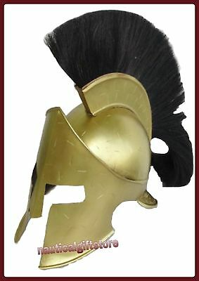 300 Movie Spartan Roman Helmet Medieval King Leonidas Copper Antique Finish