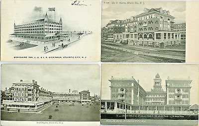Atlantic City NJ Collector's Set of Eleven...Grand Old Boardwalk Hotels