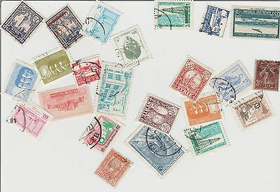 23 Syria Used Stamps