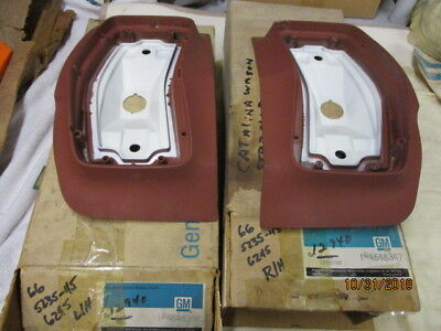 Nos Pontiac 1966 Catalina,star-Chief Wagon Rear T/lamp Housings Pair
