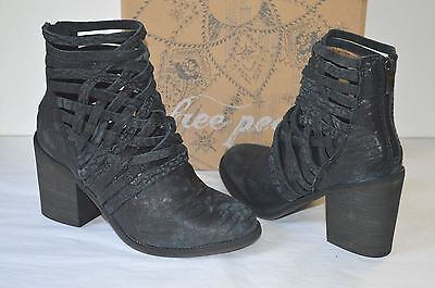 NEW 198 FREE FREE FREE People Cambridge Wrap Boot Stiefel Short Ankle Leder ... 34617c