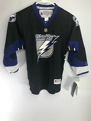 4b454660c Reebok Youth Tampa Bay Lightning NHL Hockey Official Licensed Jersey Size  4-7