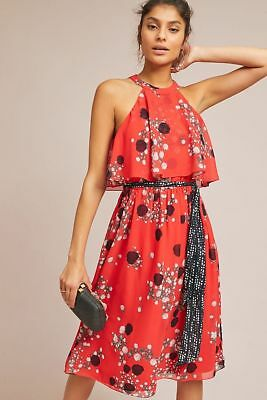 bd00683b6668 NEW ANTHROPOLOGIE LLAMA Embroidered Dress Size 16 Boho - $88.20 ...