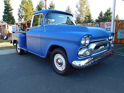 1959 GMC 100 custom 1959 GMC Long Bed Pickup Freshly restored and ready to go!
