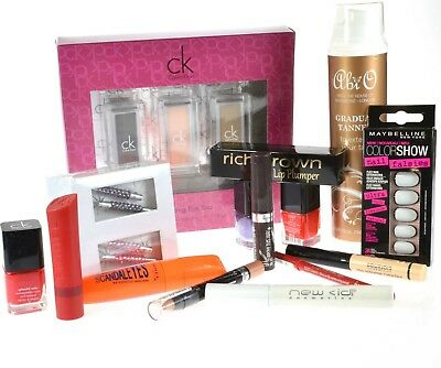 Random Beauty Bundle 10 New Items Rimmel CK Bourjois Abi O Nails £25.00+ Value