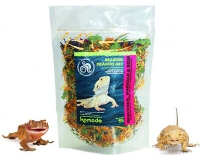Bearded Dragon Natural Treat Topper Mix Insects Flowers, Leaves Marigold & Rose