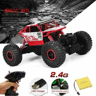 Top 2.4G Remote Control 2WD Off-Road RACING Monster Truck High Speed RTR RC Car
