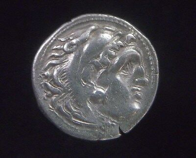 Greek Silver Drachm of Alexander III The Great, 336-323 BC,  AC0189