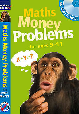 Maths Money Problems 9-11 by Andrew Brodie NEW Book AND CD ROM