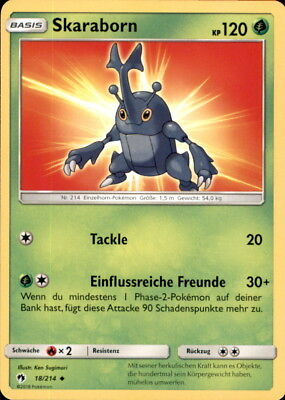 Pokemon 156/214 Damhirnplex Echo des Donners Deutsch