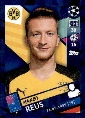 Topps Champions League 18/19 - Sticker 138 - Marco Reus